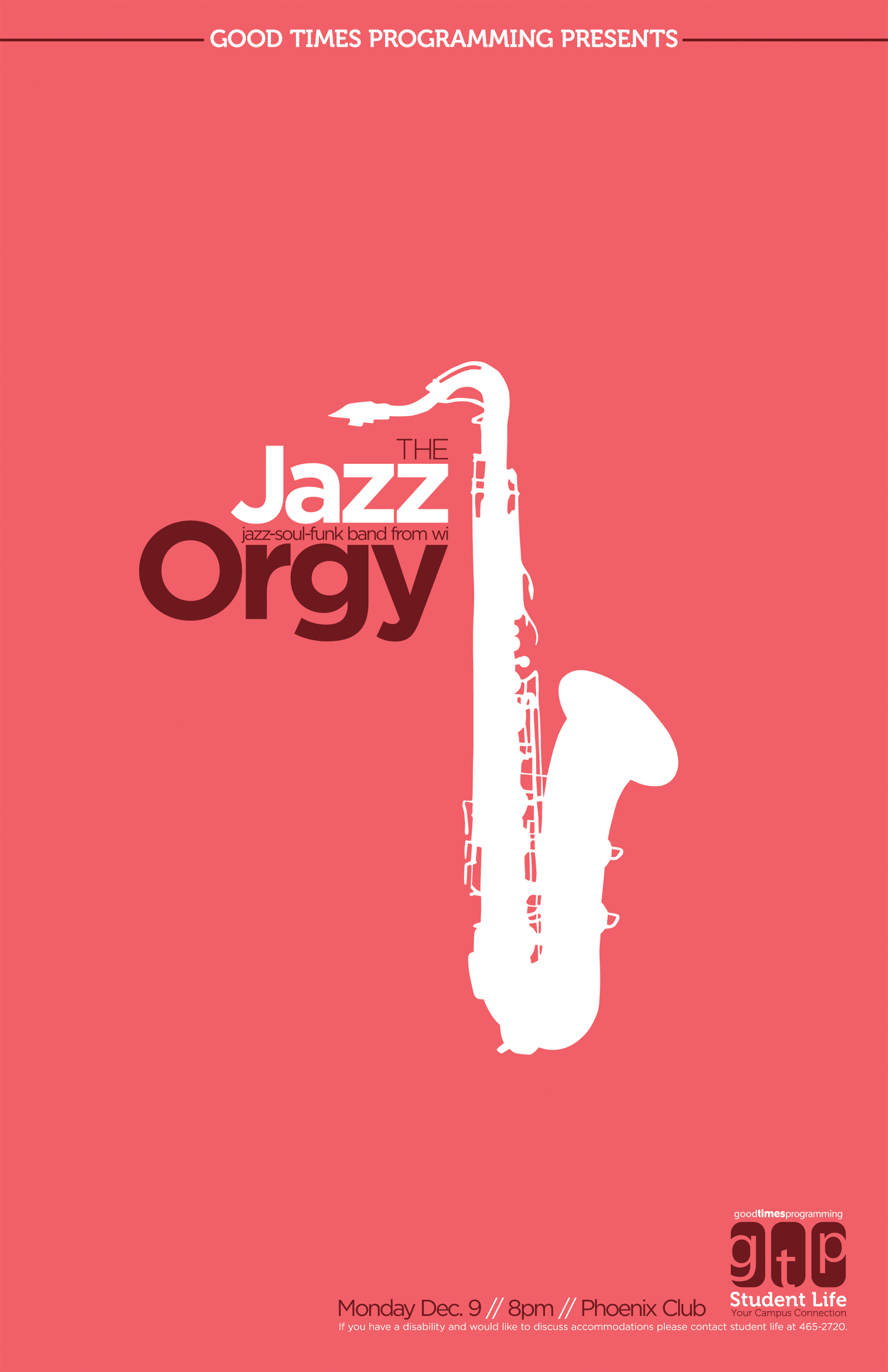 The Jazz Orgy Poster
