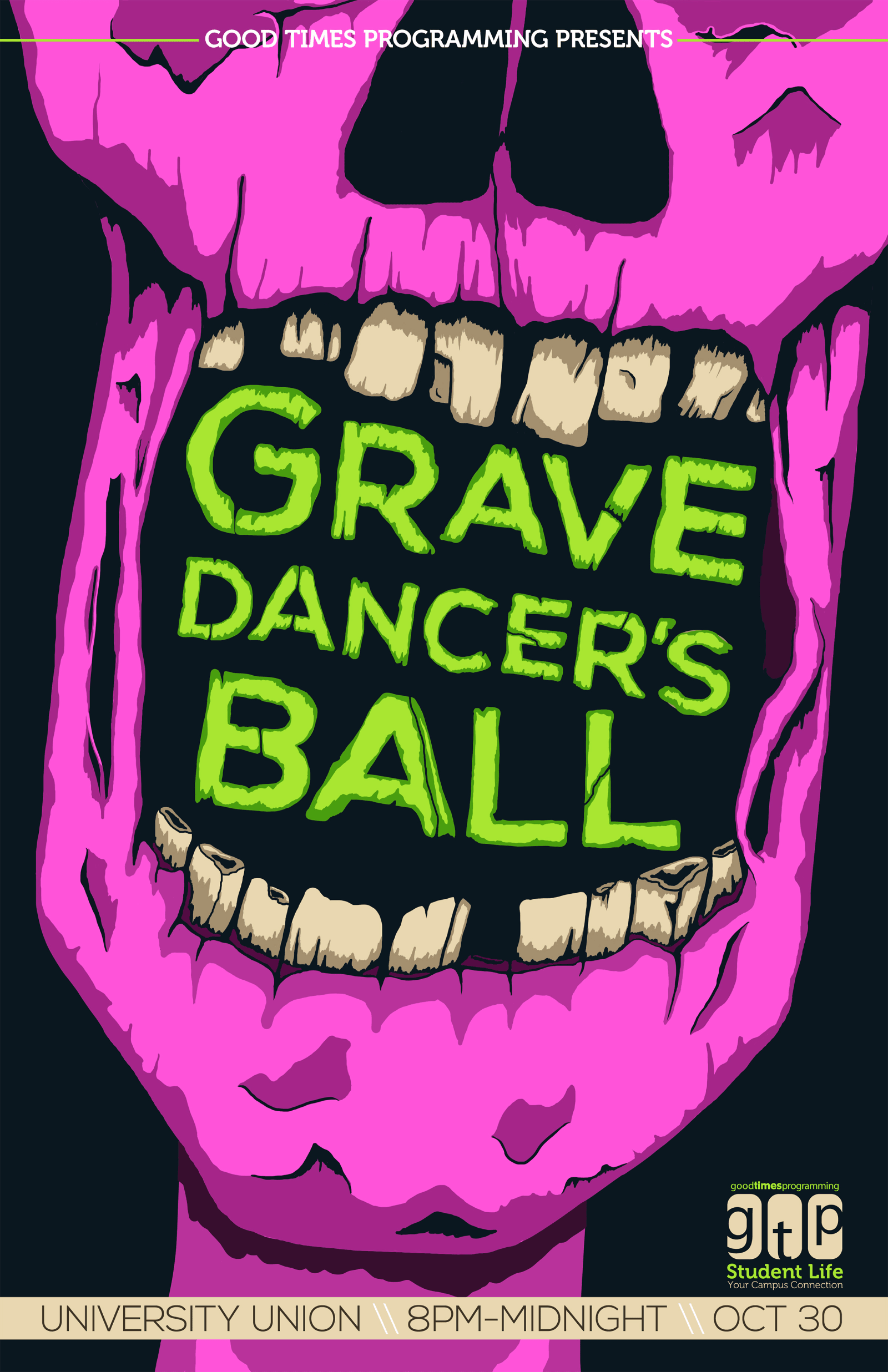 Grave Dancers Ball Poster