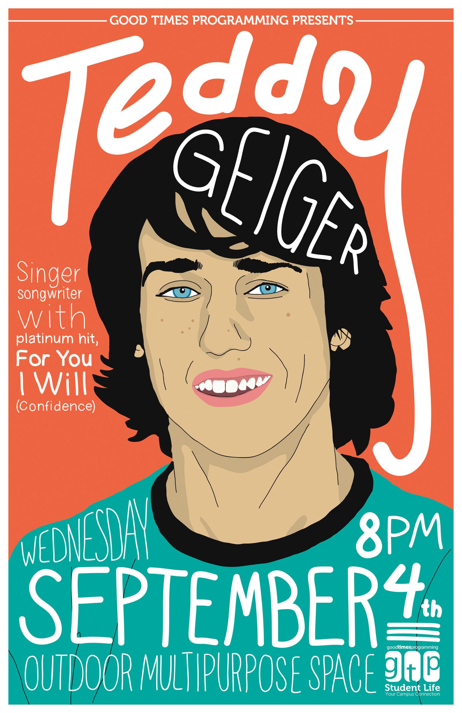 Teddy Geiger Poster