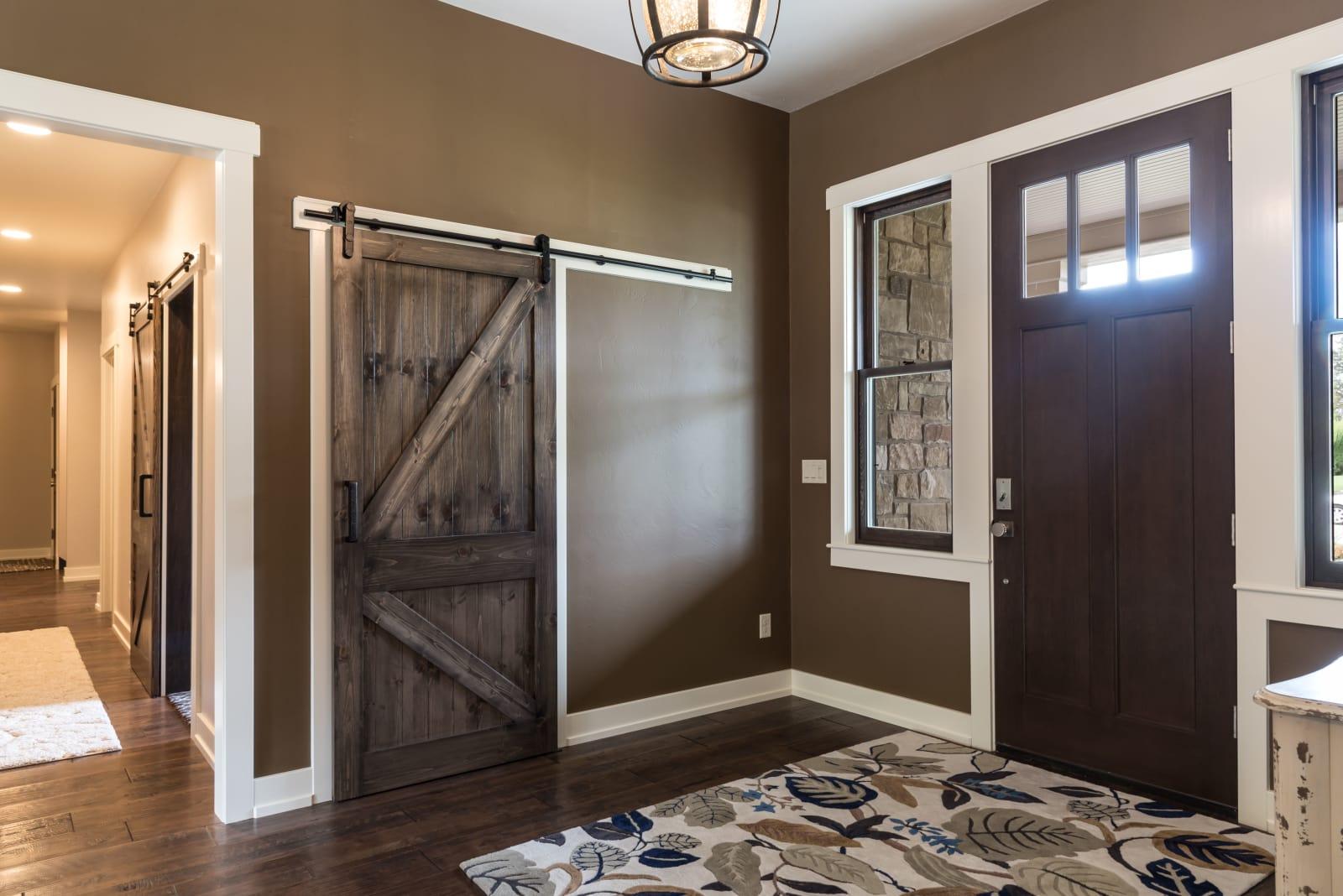 Van's Lumber Photography Entryway Barn Door