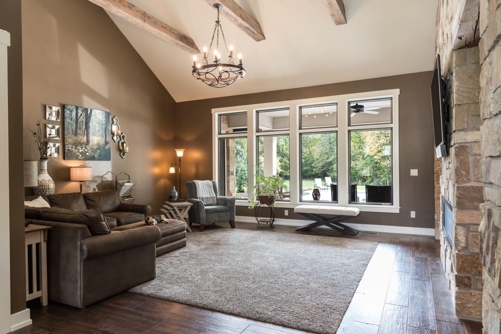 Van's Lumber Photography Living Room