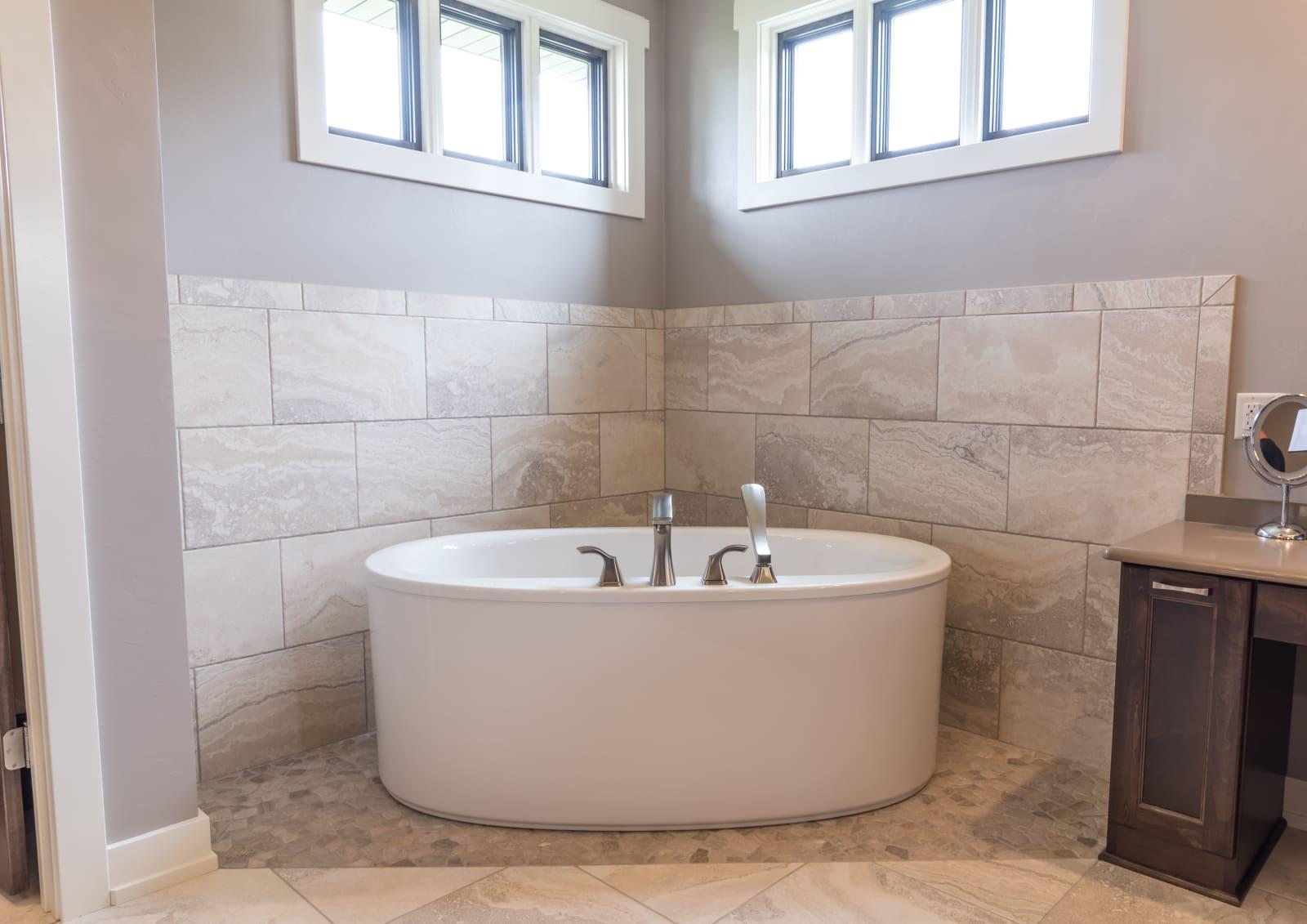 Van's Lumber Photography Bathroom Bathtub