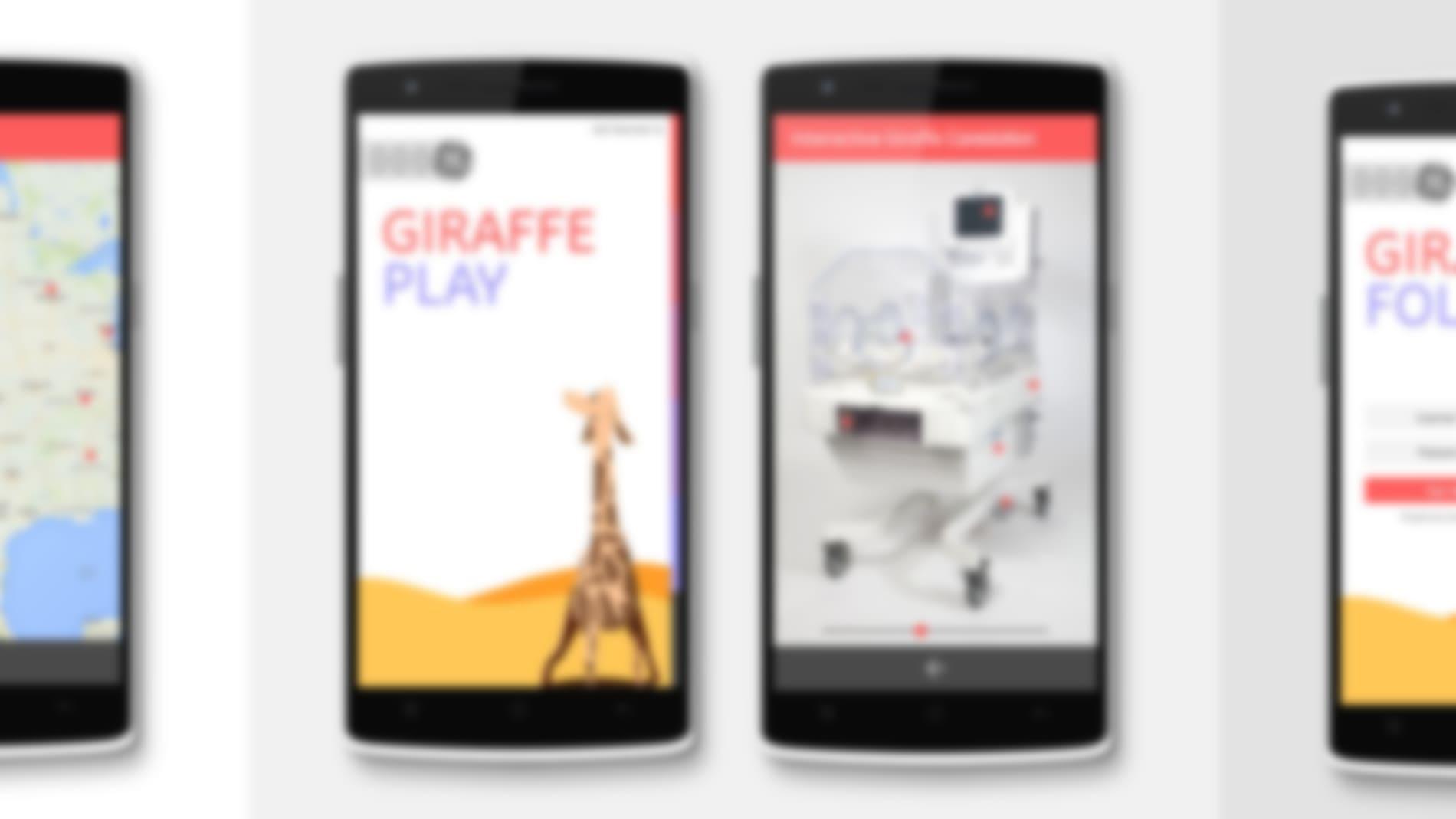 GE Giraffe Carestation Concepts