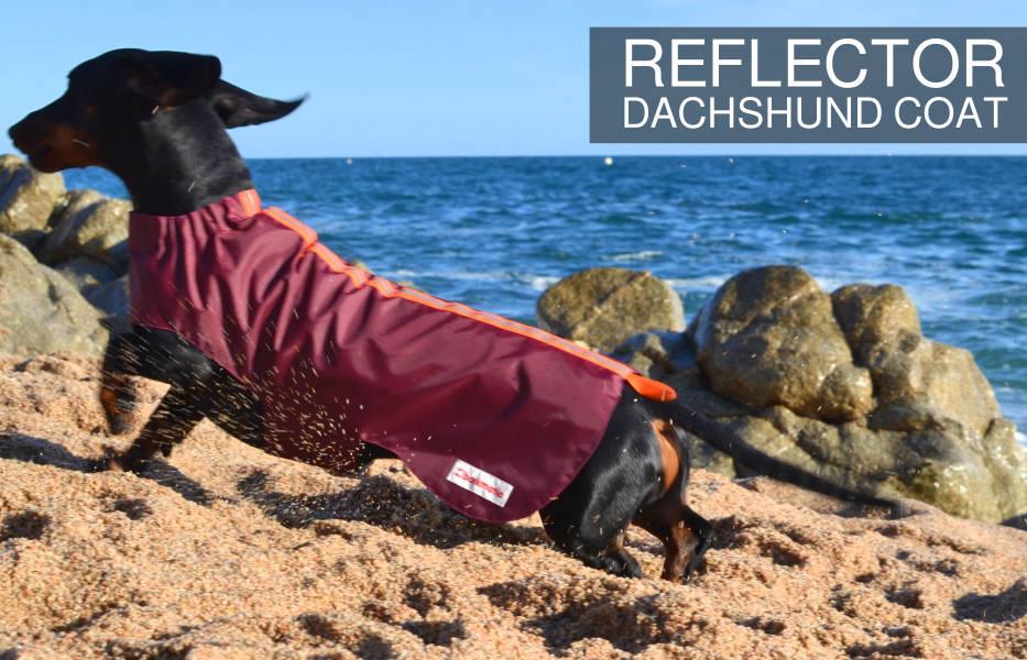 Barkmatic dachshund reflector coat