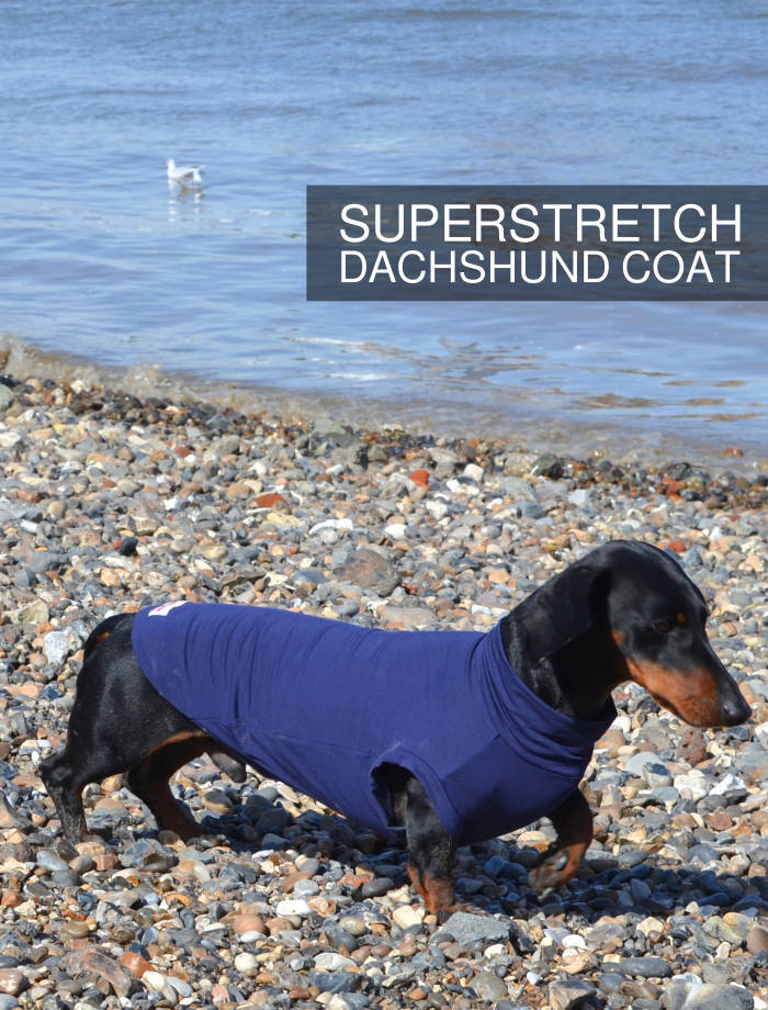 Barkmatic dachshund superstretch coat
