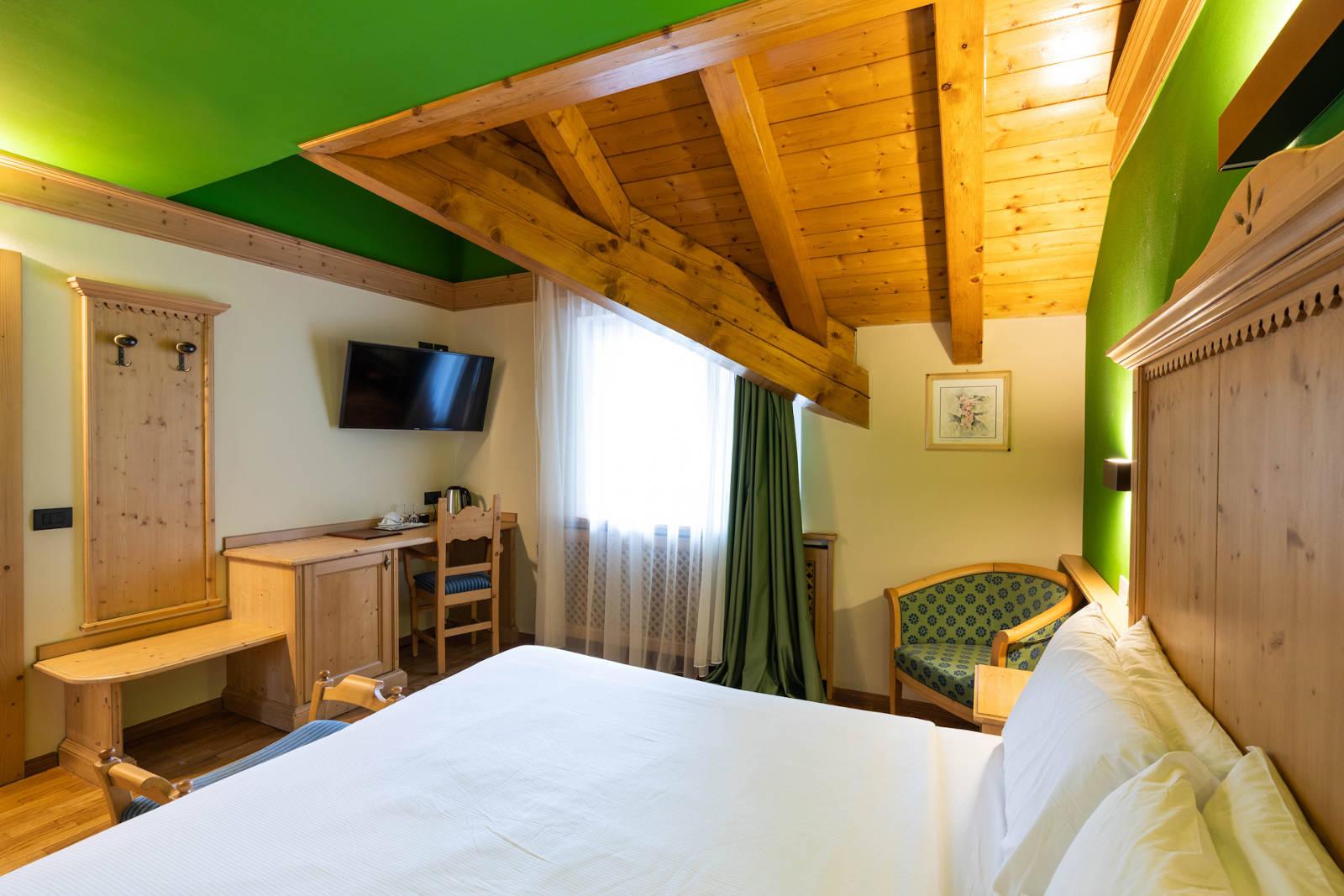 Camera Standard Ciampedel Hotel Medil Val di Fassa