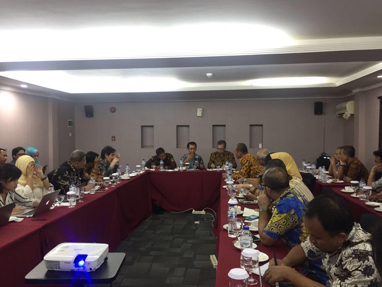 Diskusi dengan Direktorat Jenderal Tata Ruang, Kementerian Agraria dan Tata Ruang
