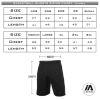 Basketball shorts Sizing chart