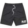 Aus Champs - Casual Shorts - Charcoal