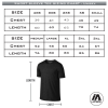 Hawthorn Titans - Pro Performance Tee - Sizing Chart