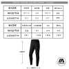 Hawthorn Titans - Track Pants Sizing Chart