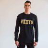 Richmond Riots - Pro Performance Long Sleeve Tee - Black Marle