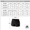 Richmond Riots - Womens running shorts sizing chart