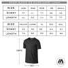 Richmond Riots - Pro performance Tee sizing chart