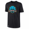 Canberra Capitals Black Performance Tee