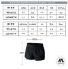 Adelaide Lightning Running Shorts - sizing chart