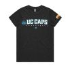 Canberra Capitals 2020 Womens Tee - Charcoal Marle