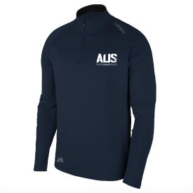 Aus Champs - Qtr Zip - Navy