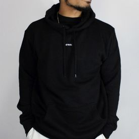 Centre Hoodie - Black