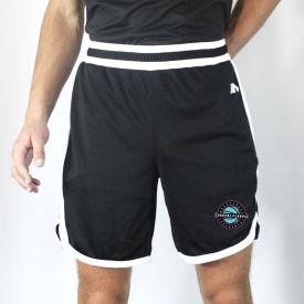 Black / White Coaches Shorts