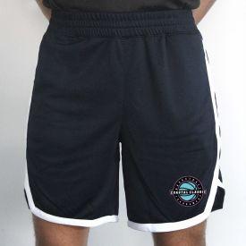 Navy / White Coaches Shorts