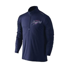 Adelaide Lightning Qtr Zip Navy Jumper