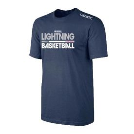 Adelaide Lightning Performance Navy Tee