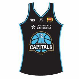 Canberra Capitals Home Replica Jersey