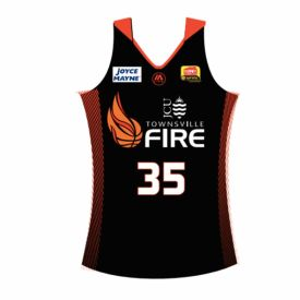 Townsville Fire Home Replica Jersey