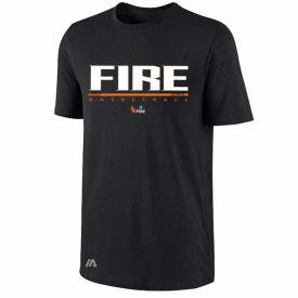 Townsville Fire Black Performance Tee