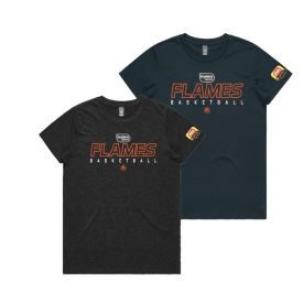 Flames Womens tee pack