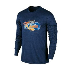 Sydney Flames Performance Long Sleeve Tee