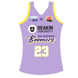 Melbourne Boomers 2020 away Replica Jersey