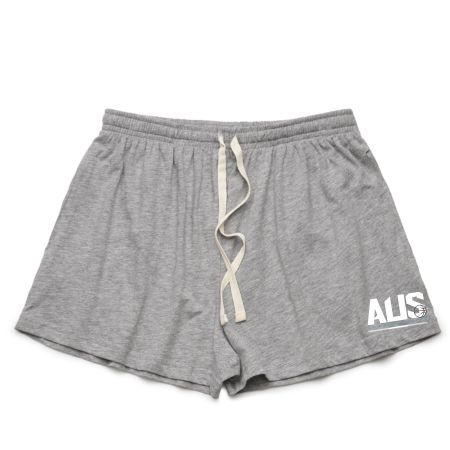Aus Champs - Womens Casual Shorts - Grey