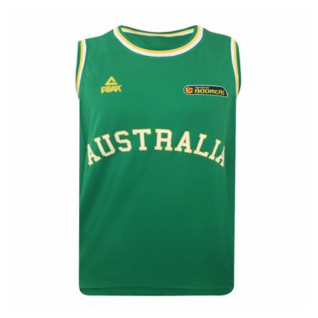 Boomers Green Replica Singlet