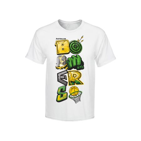 Marvel Boomers White Tee