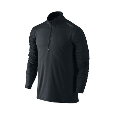 Pro Tech Qtr Zip Jacket - Black