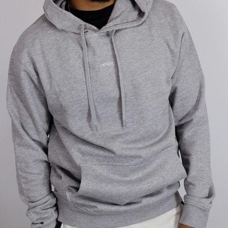 Centre Hoodie - Grey