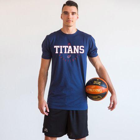 Hawthorn Titans - Pro Performance Tee - Navy