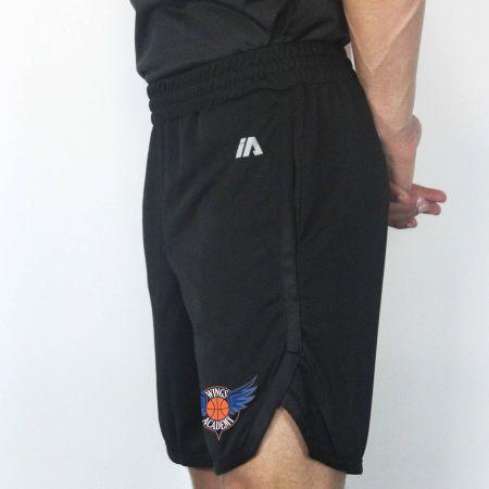 Black/Black Casual Shorts
