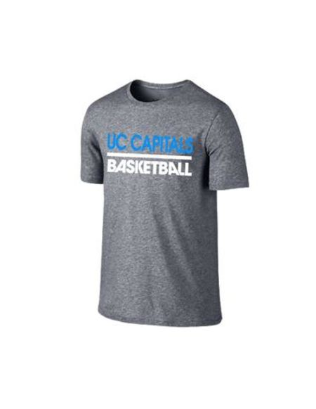 Canberra Capitals Grey Marle Performance Tee
