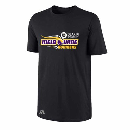 Melbourne Boomers performance tee black