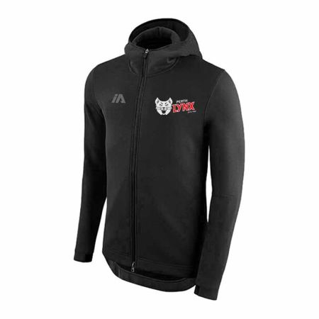 Perth Lynx 2020 Pro Zip Hoodie black