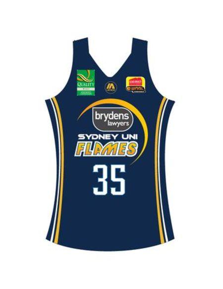 Sydney Flames Home Replica Jersey