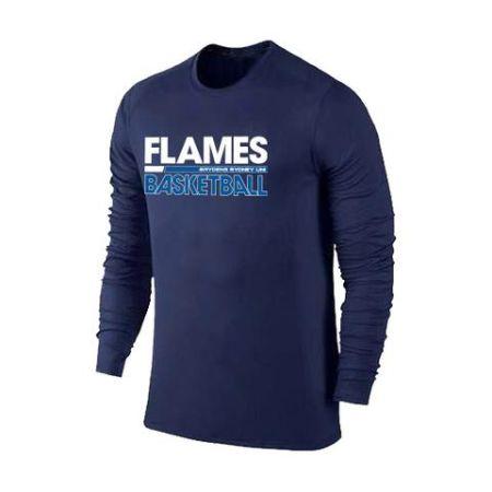 Sydney Flames Performance Long Sleeve Tee