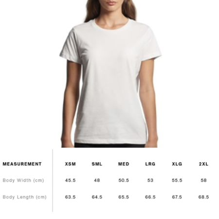Sizing Chart / Fit