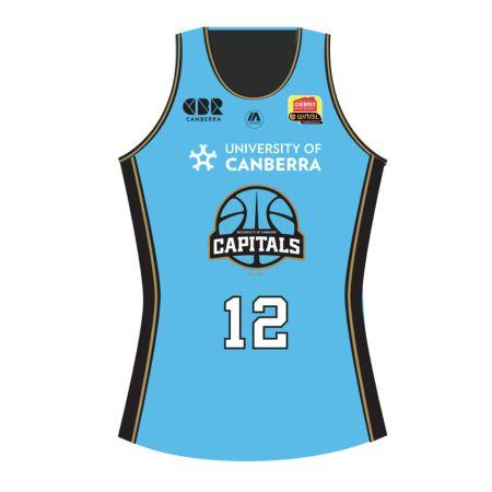 Canberra Capitals 2020 Away Replica Jersey