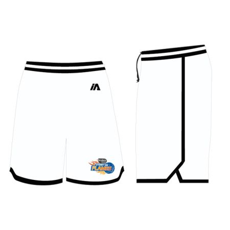 Sydney Flames 2020 Coaches Shorts - White / Black