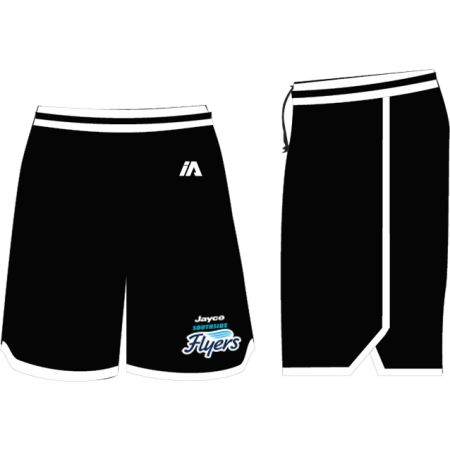 Southside Flyers 2020 Coaches Shorts - Black / White