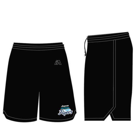 Southside Flyers 2020 Coaches Shorts - Black / Black